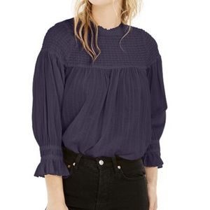 Free People Obi Mila Smocked Tunic